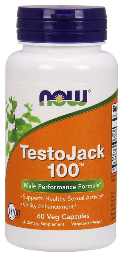 Купить Многокомпонентный препарат NOW TestoJack 100 120 капс.