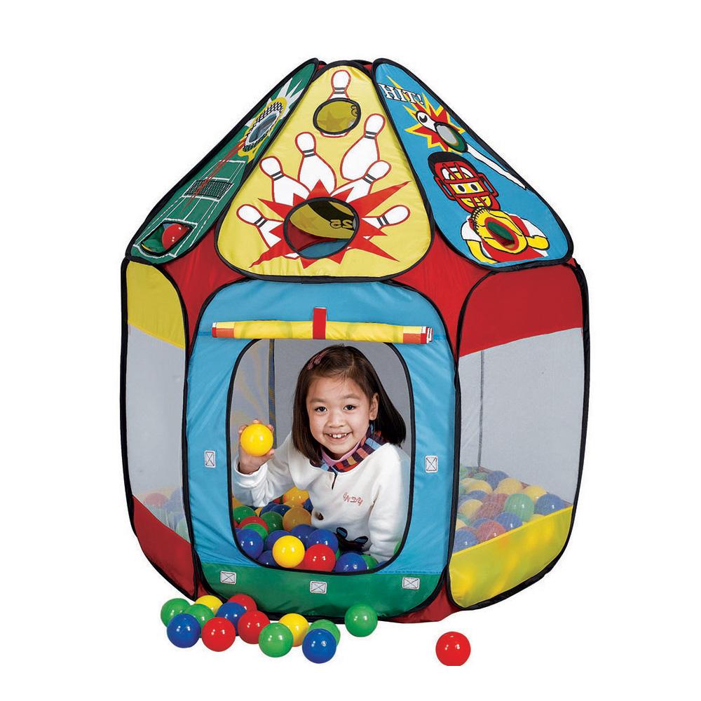 CALIDA Дом + 150 шаров ДОМИК СПОРТ (1000х118см) 678