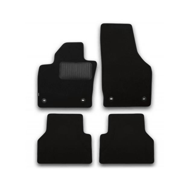 Коврики в салон Klever Standard для BMW X1 F48, 4WD 2015, 4 шт. текстиль