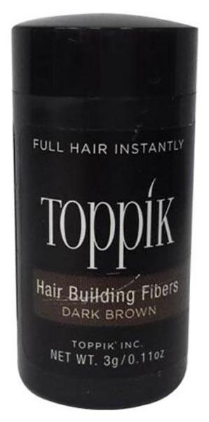 Пудра-загуститель для волос Toppik Hair Building Fibers Брюнет 3 гр