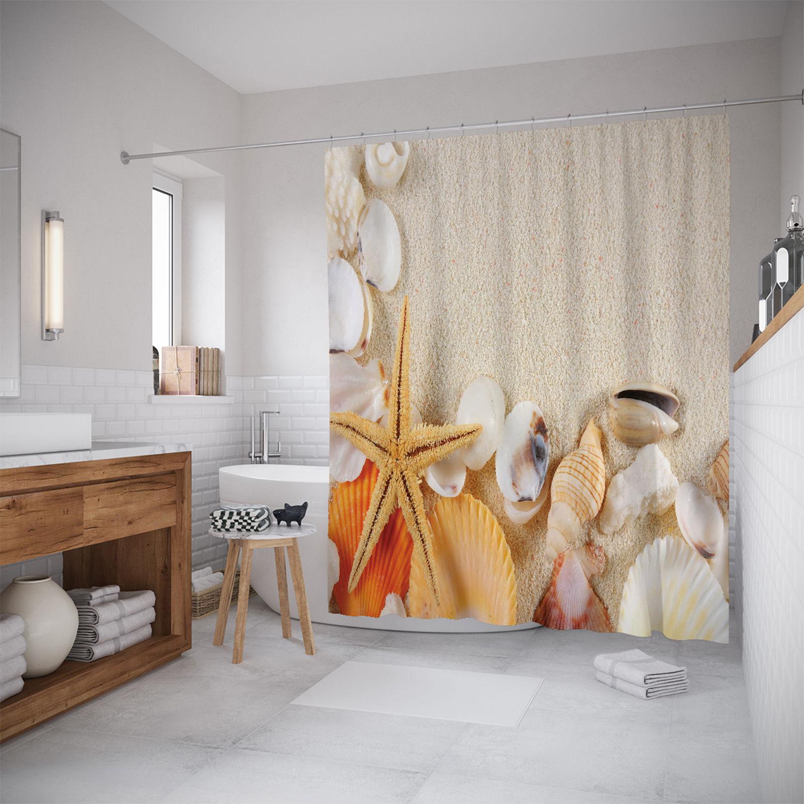 Штора для ванной JoyArty «Собранные ракушки» 180x200