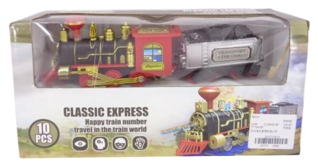Железнодорожный набор Junfa toys Классический экспресс 31х15х8