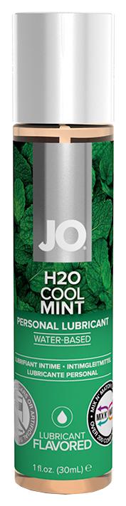 Купить Flavored Cool Mint H2O, Гель-смазка JO Flavored Cool Mint на водной основе с ароматом мяты 30 мл, System JO
