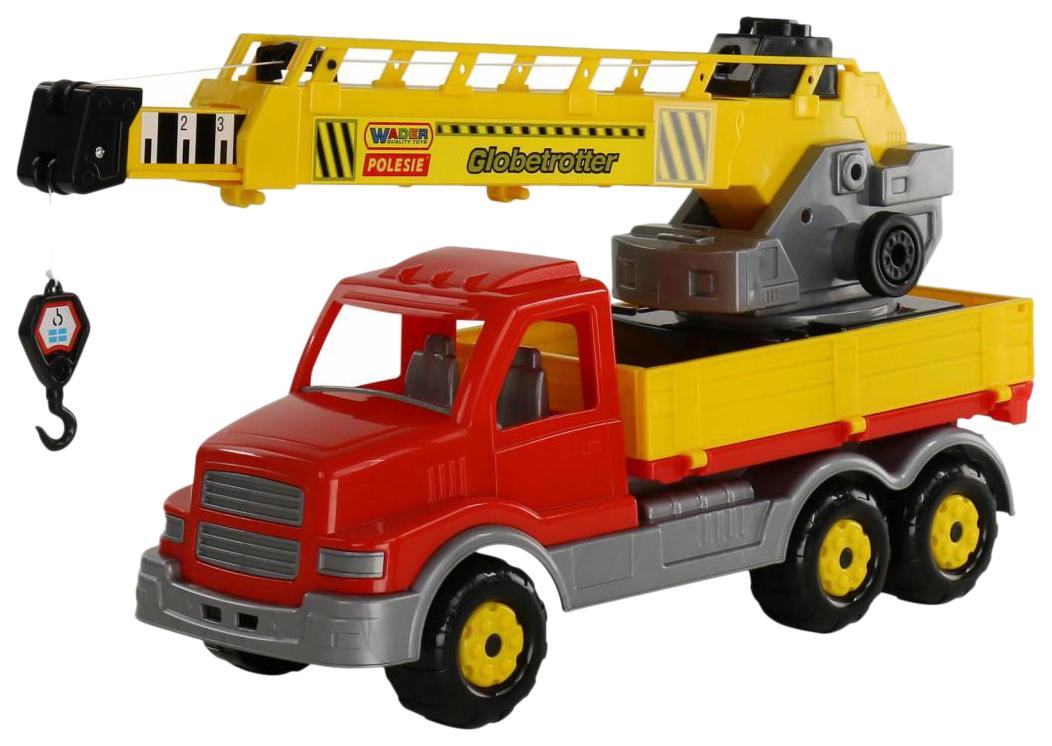 Купить Игрушки, Автомобиль-кран с поворотной платформой Wader Сталкер 56511_PLS, Игрушечные машинки
