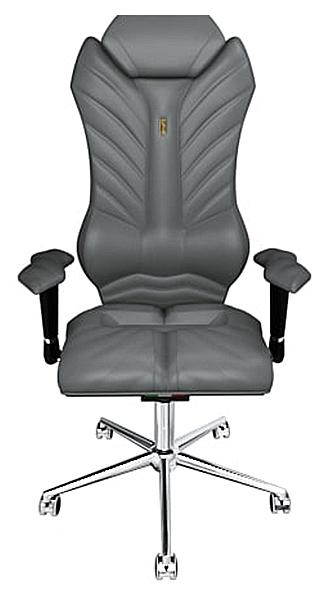 Кресло руководителя Kulik System Monarch 204, серебристый фото