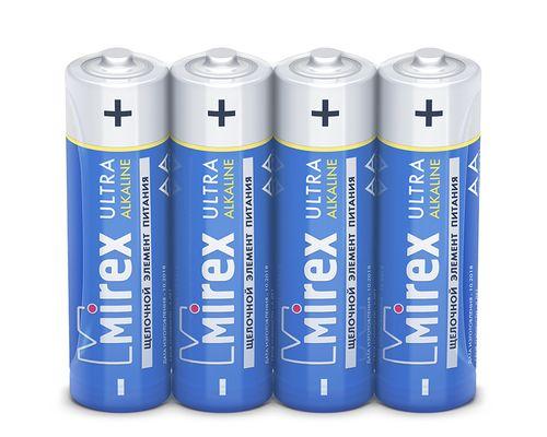 Батарейка щелочная Mirex LR6/AA 1,5V 4 шт фото