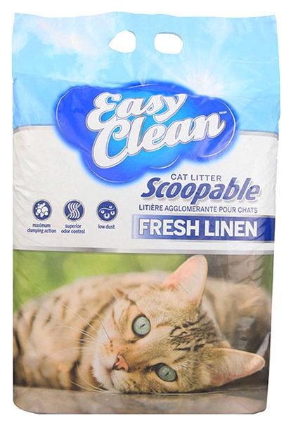 Комкующийся наполнитель туалета для кошек Easy Clean Fresh Meadow, 9,07 кг