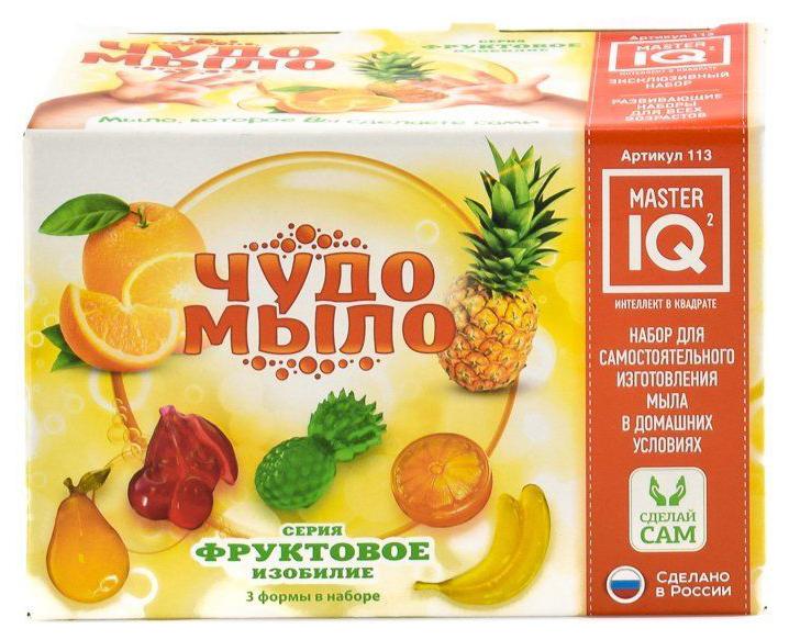 Купить Набор для изготовления мыла Master IQ2 Чудо-Мыло Фруктовое изобилие, Master IQ²,