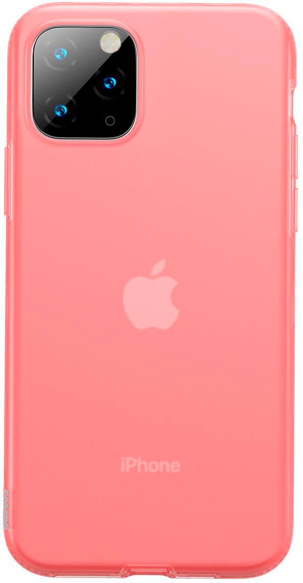 Чехол Baseus Jelly Liquid Silica Gel для Apple iPhone 11 Pro 2019 Red