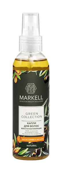 Масло для волос MARKELL Green Collection ВОССТАНАВЛИВАЮЩЕЕ 100 мл