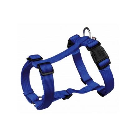 Шлейка для собак TRIXIE PREMIUM, размер XS – S, 30–40 см/10 мм, синяя