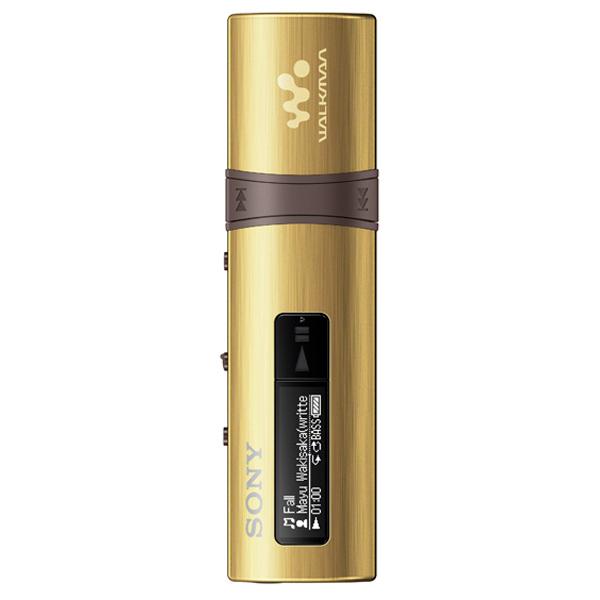 Портативный медиаплеер Sony NWZ-B183F Gold