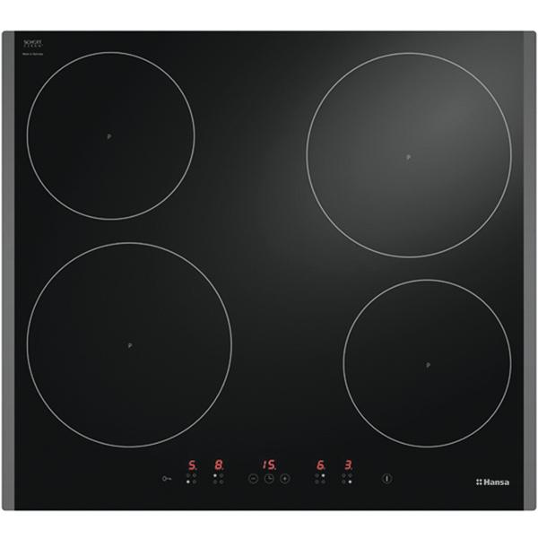 Встраиваемая варочная панель индукционная Hansa BHI685010 Black