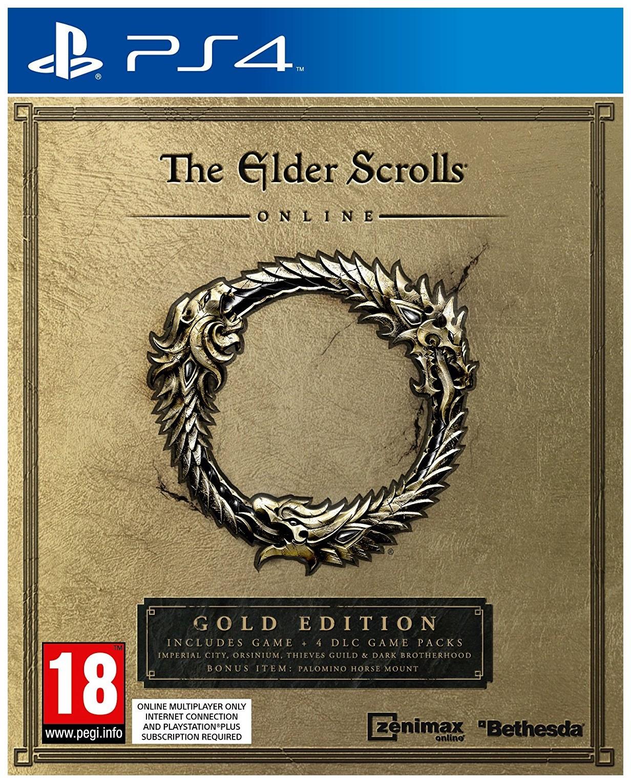 Игра Elder Scrolls Online: Gold Edition для PlayStation 4 фото