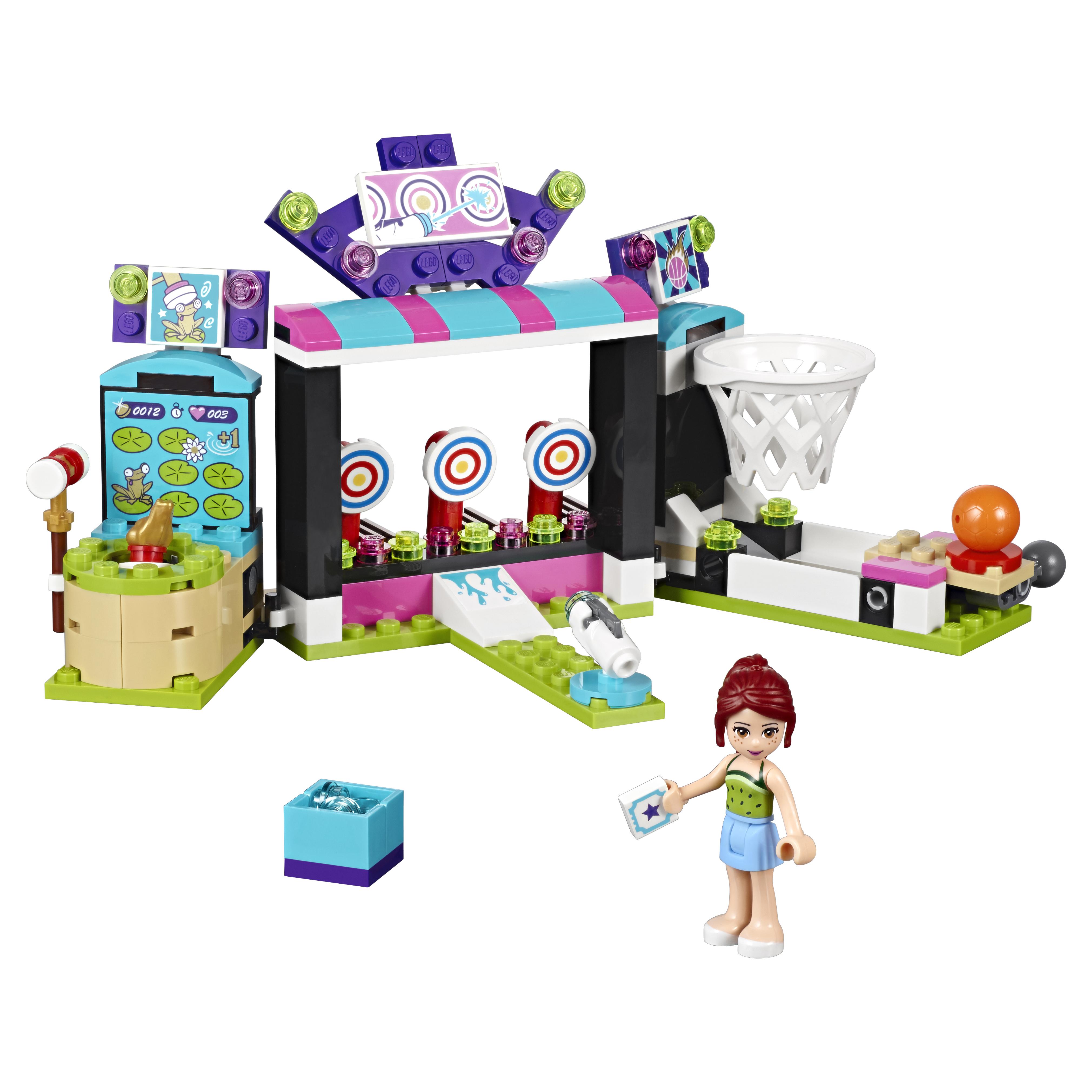 Конструктор LEGO Friends Парк развлечений: игровые автоматы (41127) фото