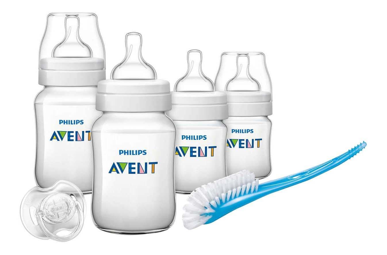 Купить Classic+, Набор для новорожденных Philips Avent SCD371/00, Бутылочки для кормления