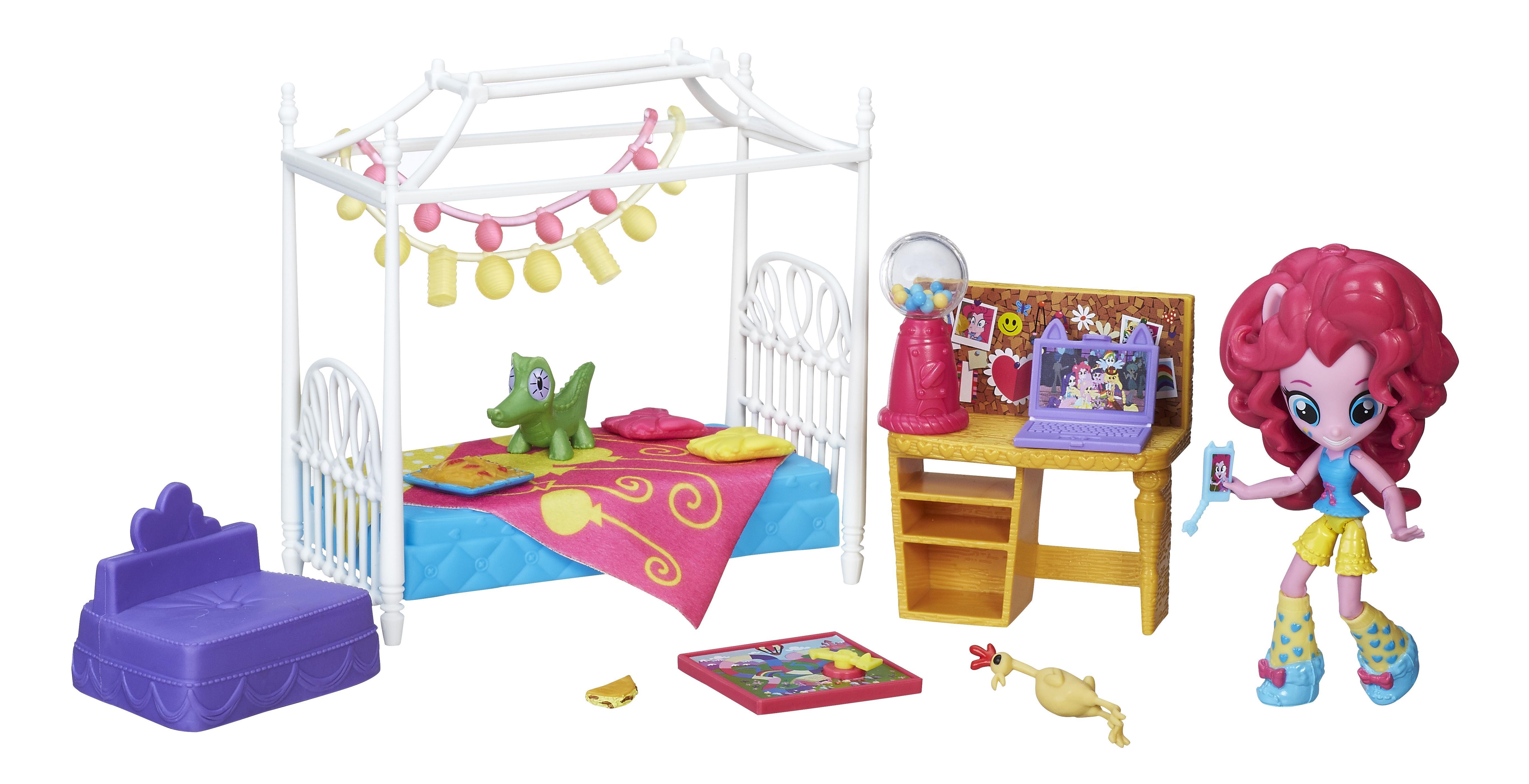 Купить Equestria girls игровой набор мини-кукол пижамная вечеринка b8824 b8844, Игровые наборы