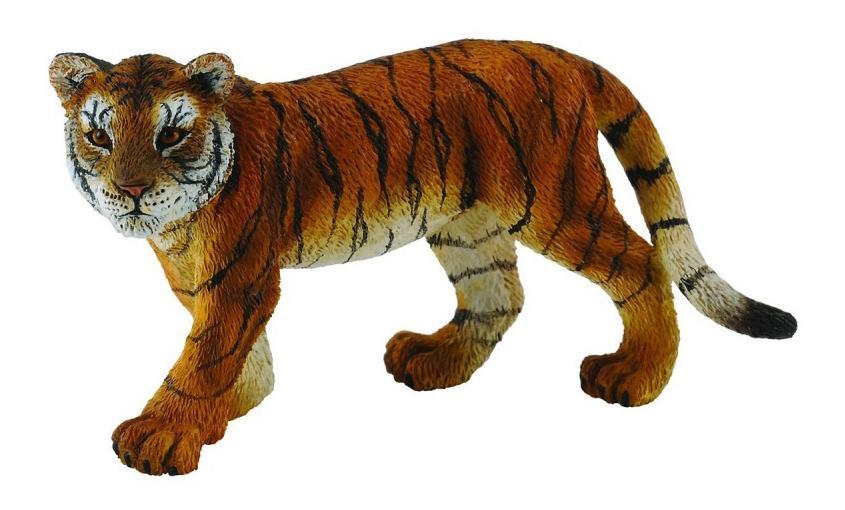 Купить Детеныш сибирского тигра, Фигурка collecta детеныш сибирского тигра, m (7, 5 см), Игровые фигурки