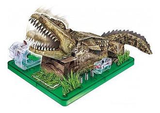 Купить Научный опыт Paper Science - Крокодил, Игровой набор Amazing Toys Научный опыт Paper Science - Крокодил,