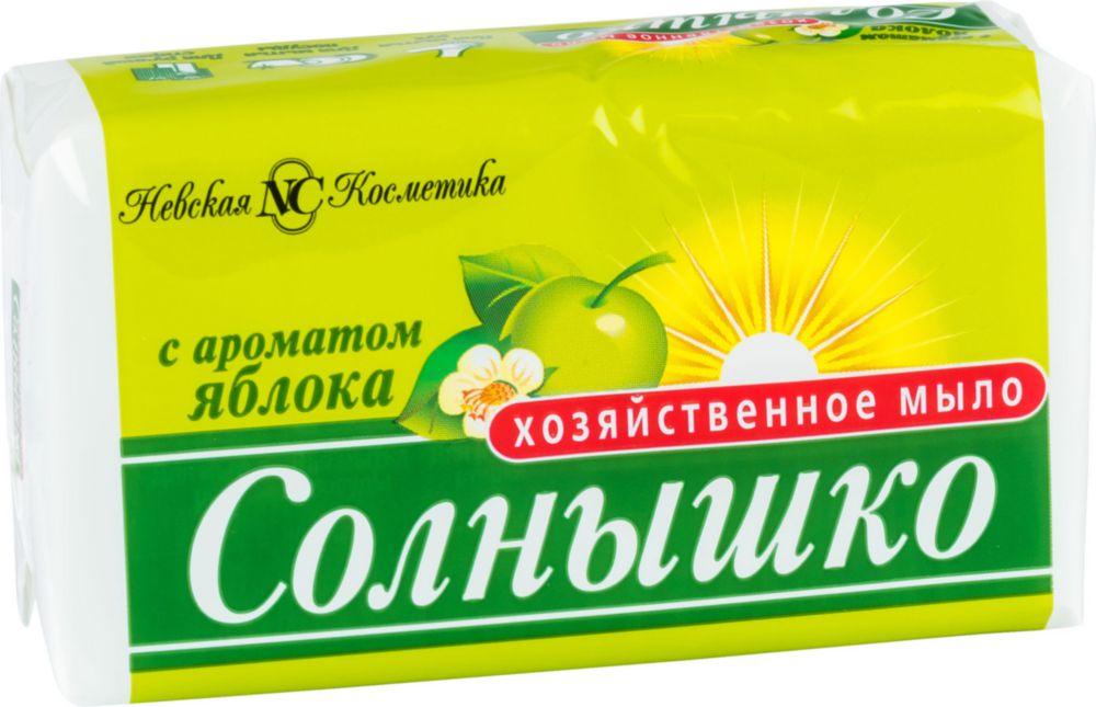 Мыло хозяйственное твердое Невская Косметика солнышко