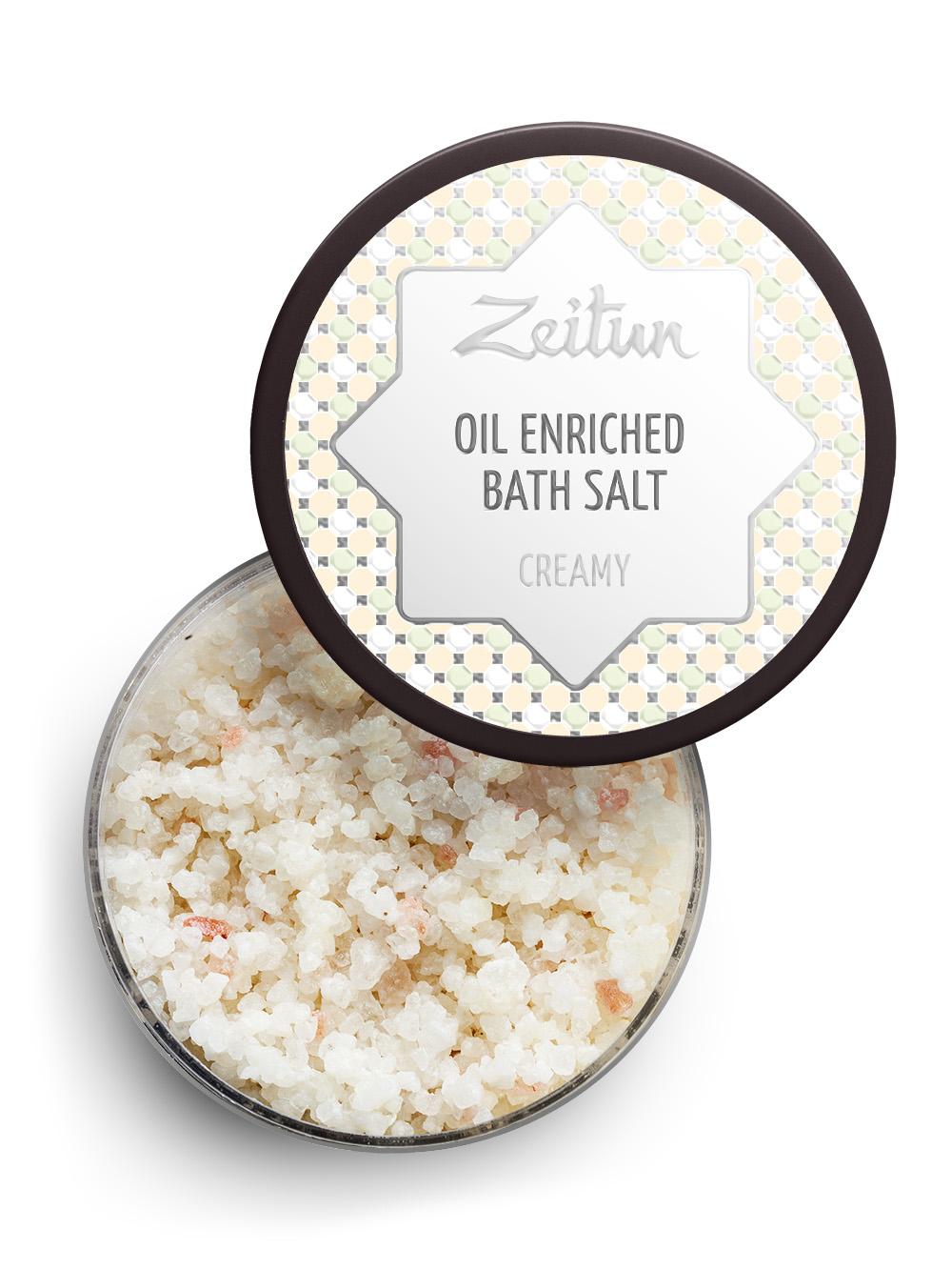 Морская соль с эфирными маслами Zeitun Сливочная,