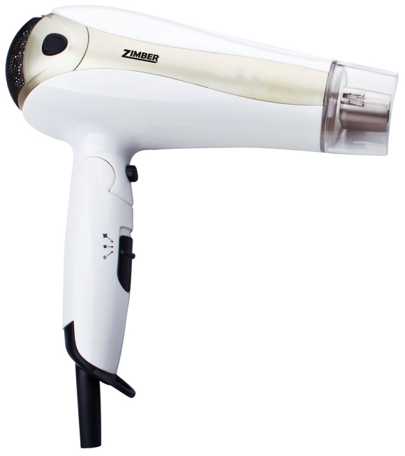 Фен Zimber ZM-10914 White/Beige