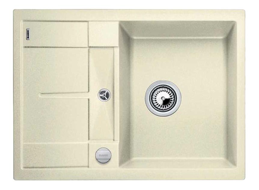 Мойка для кухни гранитная Blanco METRA 45 S Compact 519577 белый