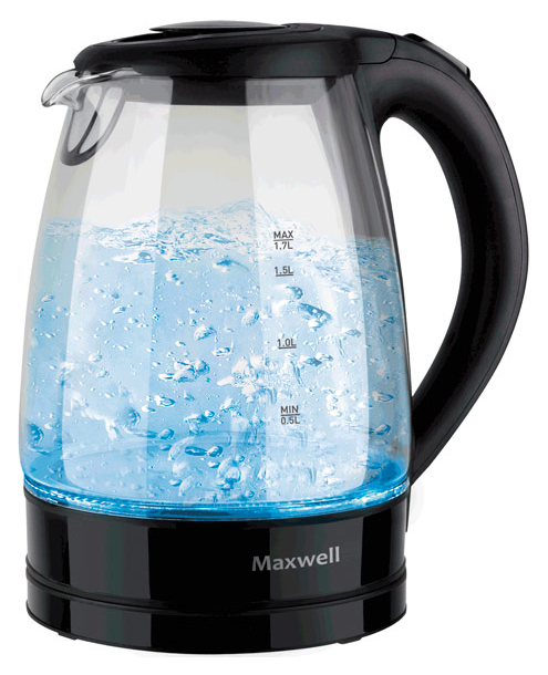 Чайник электрический Maxwell MW 1004TR Black