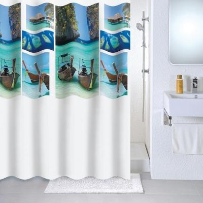Штора для ванной Milardo Paradise sky