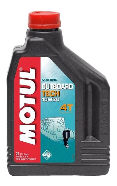 Моторное масло Motul Outboard Tech 4T 10W-30 2л 106446