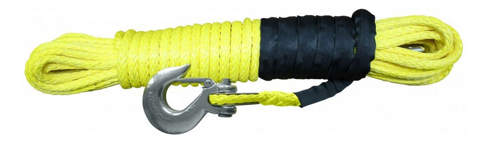 Трос для лебедки АВТОСПАС С крюком; Защитный