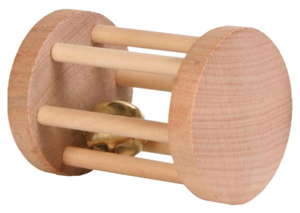 Барабан для грызунов TRIXIE, Дерево, 8,5см