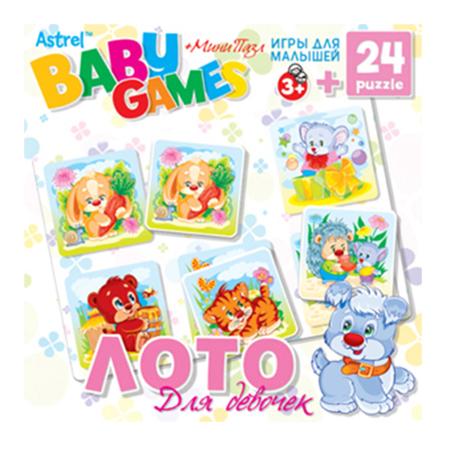 Купить Семейная настольная игра Origami Лото для девочек, Семейные настольные игры