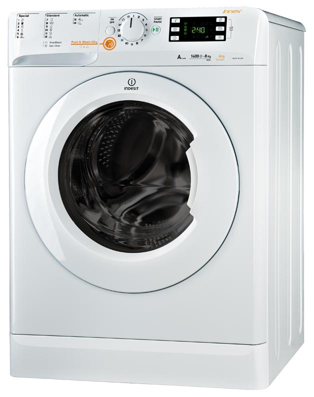 Стиральная машина с сушкой Indesit XWDE 861480 X W EU
