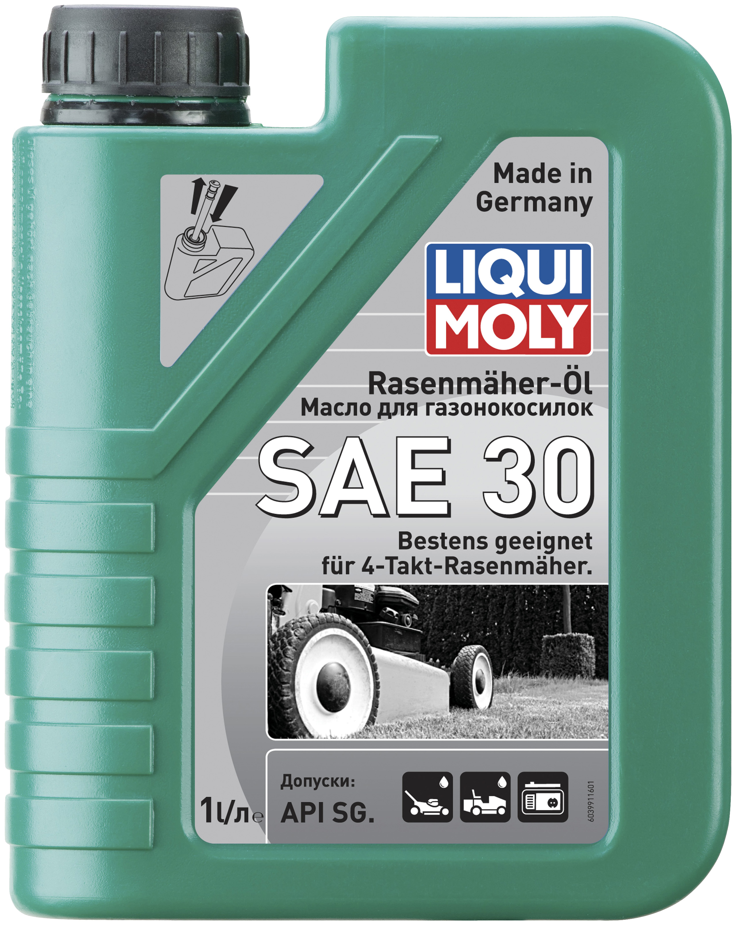 Для четырехтактных двигателей LIQUI MOLY 3991