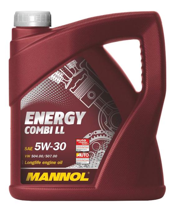 Моторное масло Mannol Ehergy Combi LL 5W-30 4л
