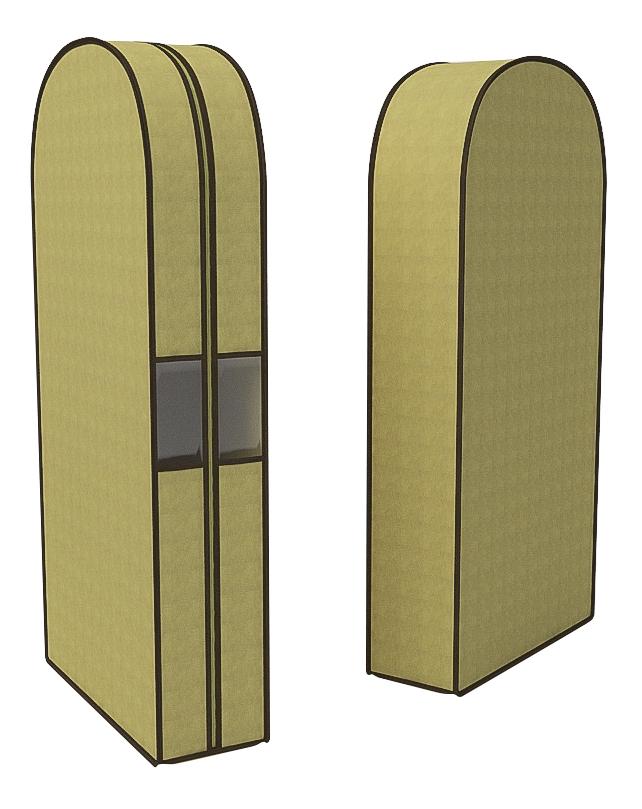 Чехол для одежды CoFreT Классик 20 х 60 х 130 см бежевый