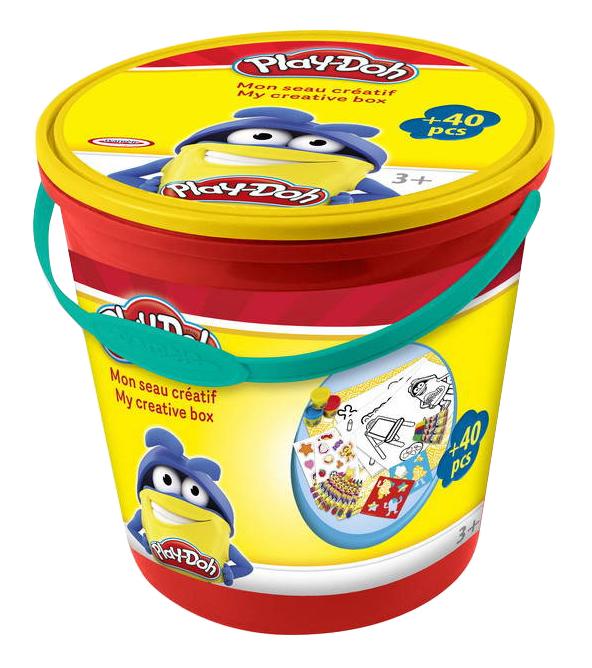 Купить Набор для лепки из глины D`arpeje Toys`n`fun Ведерко для творчества,
