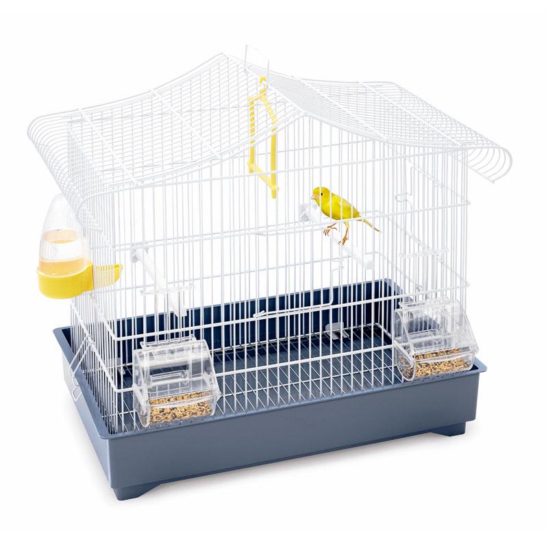 Клетка для птиц Imac SONIA, белый/синий, 47х29х45см