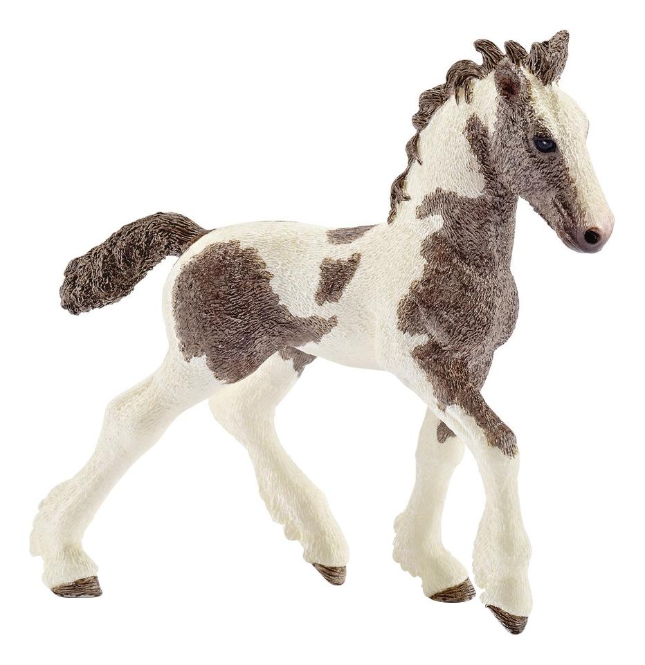 Купить Жеребенок породы тинкер 9.5 см, Фигурка лошадки Schleich Жеребенок породы тинкер 13774, Фигурки животных