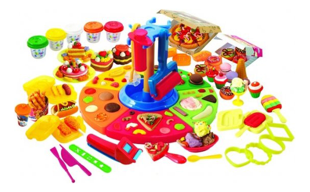 Купить Набор для лепки из пластилина Playgo Делюкс, Play&Go, Лепка