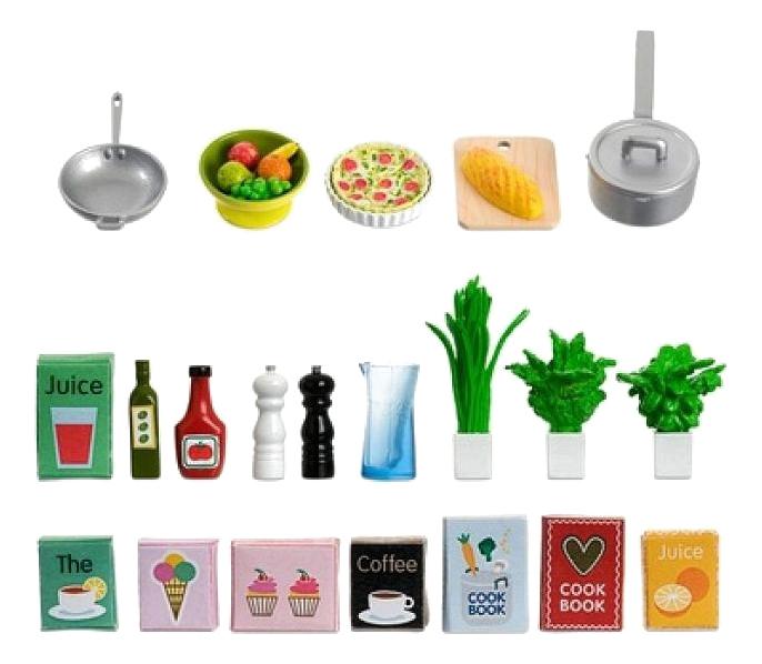 Набор Кухонные аксессуары LB_60508900 для домиков Lundby фото