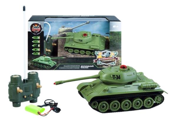 Купить Танк Т 34, Радиоуправляемая военная техника Пламенный Мотор 870234, Пламенный мотор, Радиоуправляемые танки