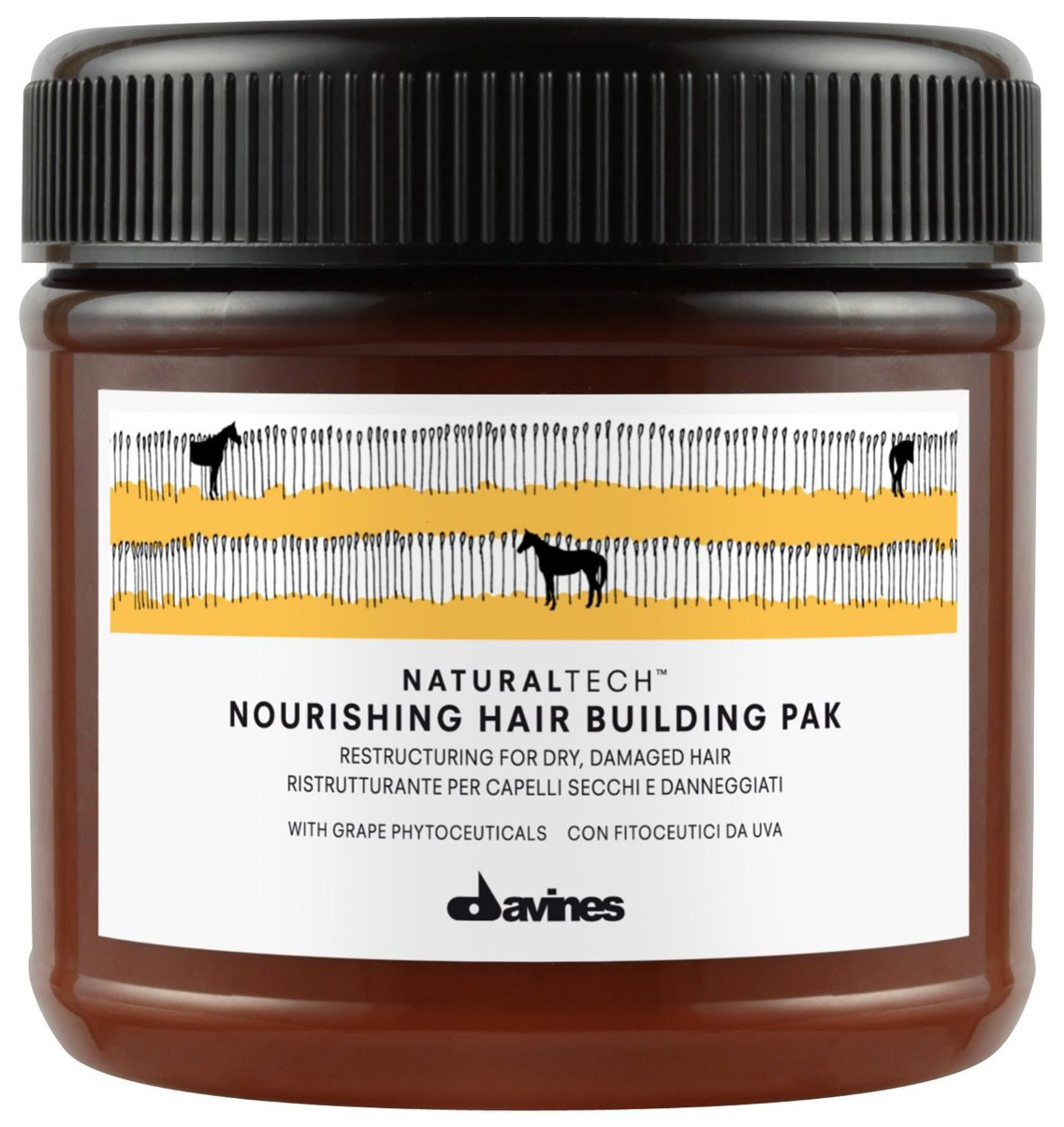 DAVINES NATURALTECH NOURISHING HAIR BUILDING PAK