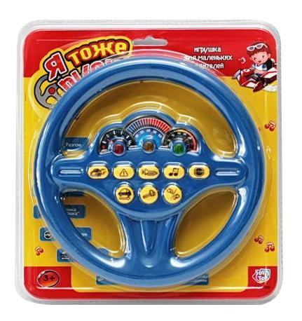 Музыкальный руль Я тоже рулю 19 см Play Smart Б30867 фото