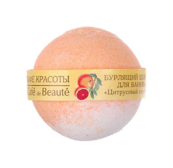 Бомбочка для ванн Кафе красоты Цитрусовый сорбет 100 г фото