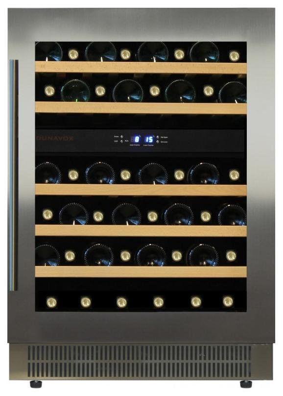 Встраиваемый винный шкаф Dunavox DAU 46.146DSS