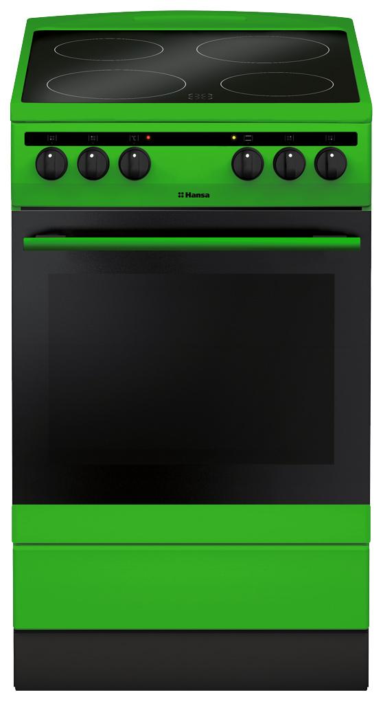 Электрическая плита Hansa FCCG58088 Green
