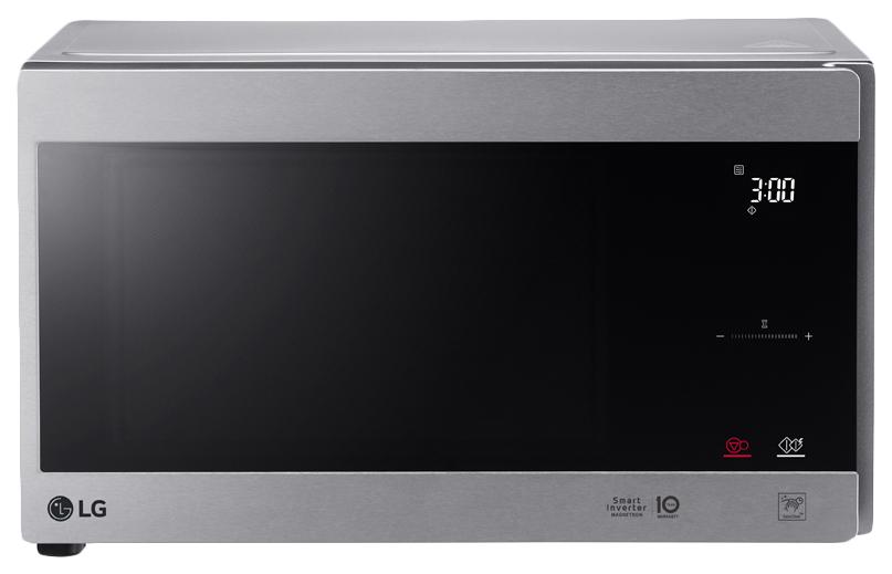 Микроволновая печь с грилем LG MH6595CIS silver фото