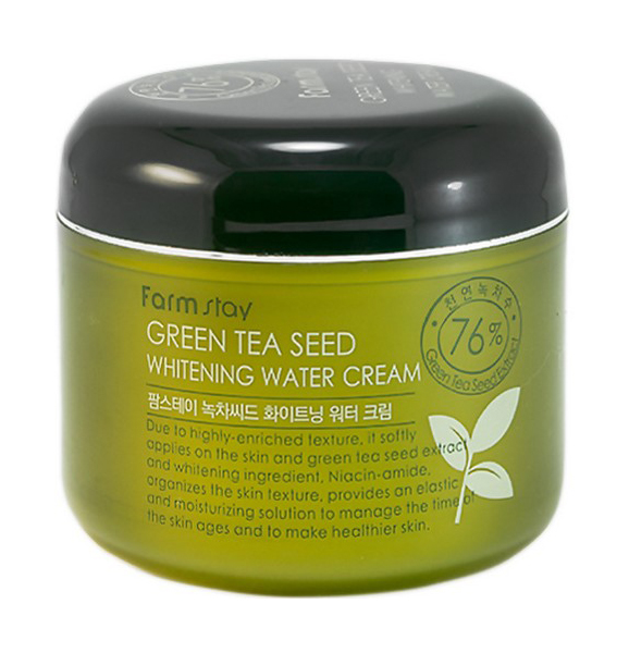 Купить Крем для лица Farm Stay Green Tea Seed Whitening Water Creamс 100 мл, FarmStay